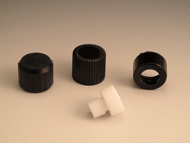 Plastic Screw caps for Glass VIS Cells